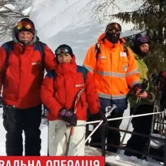 На Драгобраті знайшли лижників, зниклих три дні тому (відео)