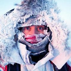 Люта негода у Києві: зафіксовано 7 випадків обмороження та 9 випадків переохолодження
