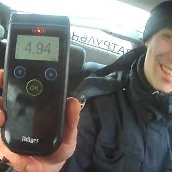 У Львові затримали водія з рекордною дозою алкоголю в крові (відео)