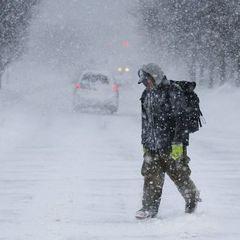 Київ знову засипе снігом - синоптики