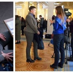 Соцмережу здивували пікантні форми Савченко та її дивний стан у ВР: фото