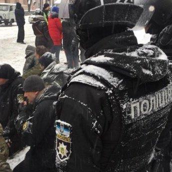 Під Радою відбулися сутички між правоохоронцями та протестувальниками (фото)