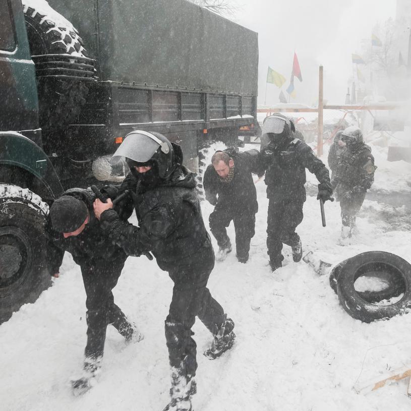Сутички під ВР: постраждало три журналісти
