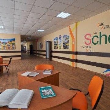 Жебрівський презентував ще одну відремонтовану школу на Донбасі