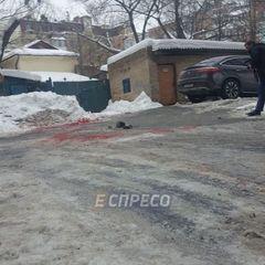 В урядовому кварталі Києва зарізали чоловіка