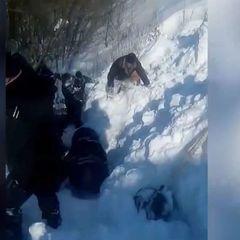 Порятунок дитини з-під снігової лавини на Харківщині: стало відомо, хто був головним героєм