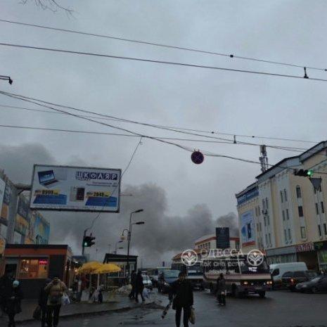 В Одесі в районі ринку «Привоз» сталась стрілянина