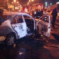Підрив автомобіля працівника СБУ у Києві: відео моменту вибуху