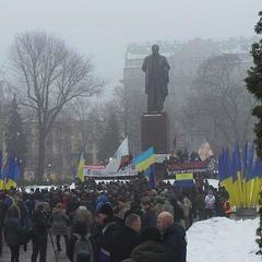 Прихильники Саакашвілі проводять мітинг у центрі Києва (фото, відео)