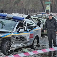 Стали відомі подробиці ДТП, у якій постраждали троє поліцейських
