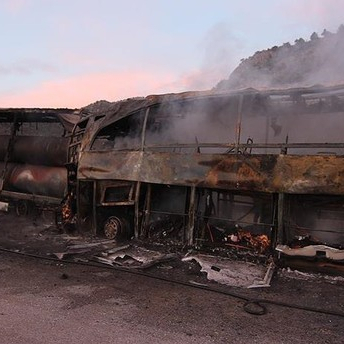 У Туреччині рейсовий автобус зіткнувся із вантажівкою: загинули 13 людей