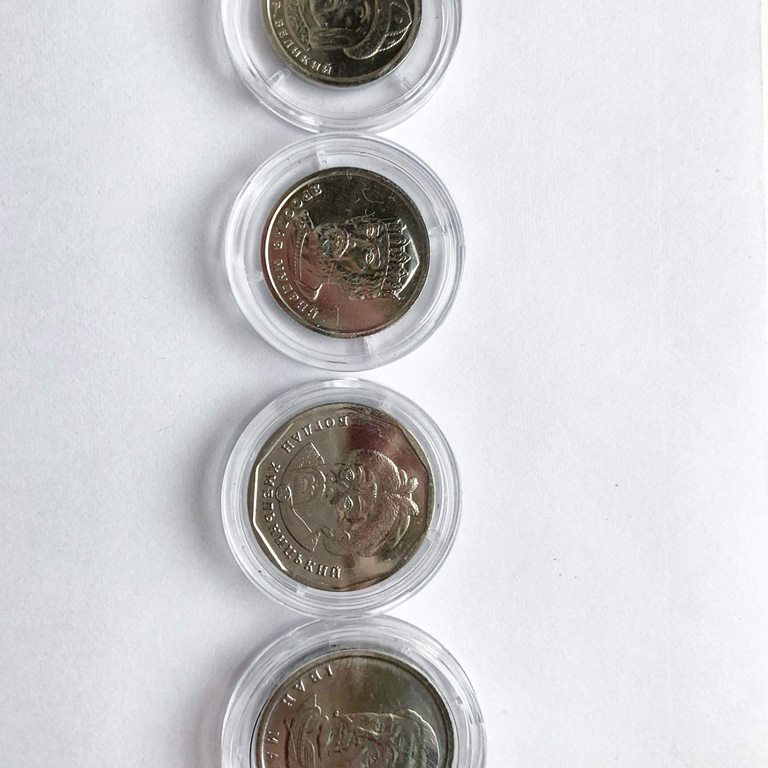 Сріблясті і легкі: якими монетами замінять дрібні купюри (фото)