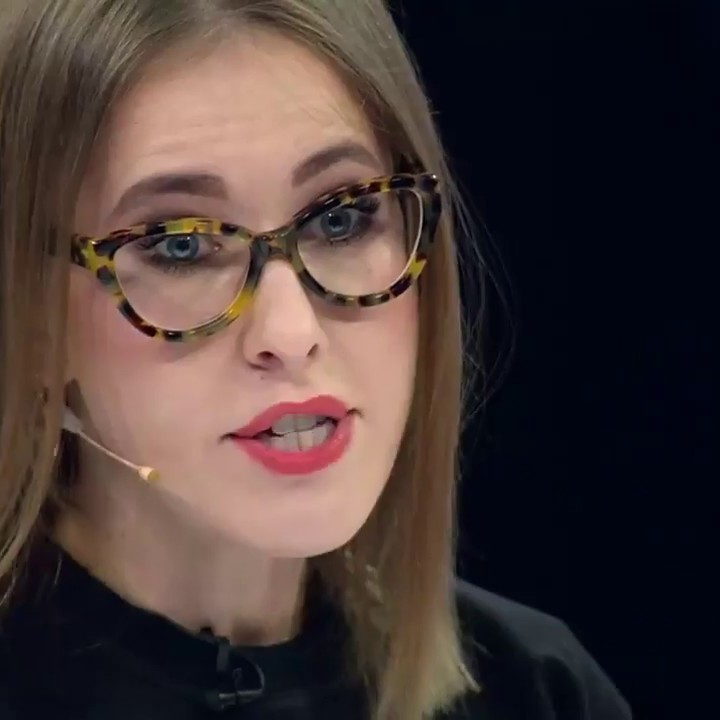 Ксенія Собчак розплакалась на теледебатах (відео 18+)