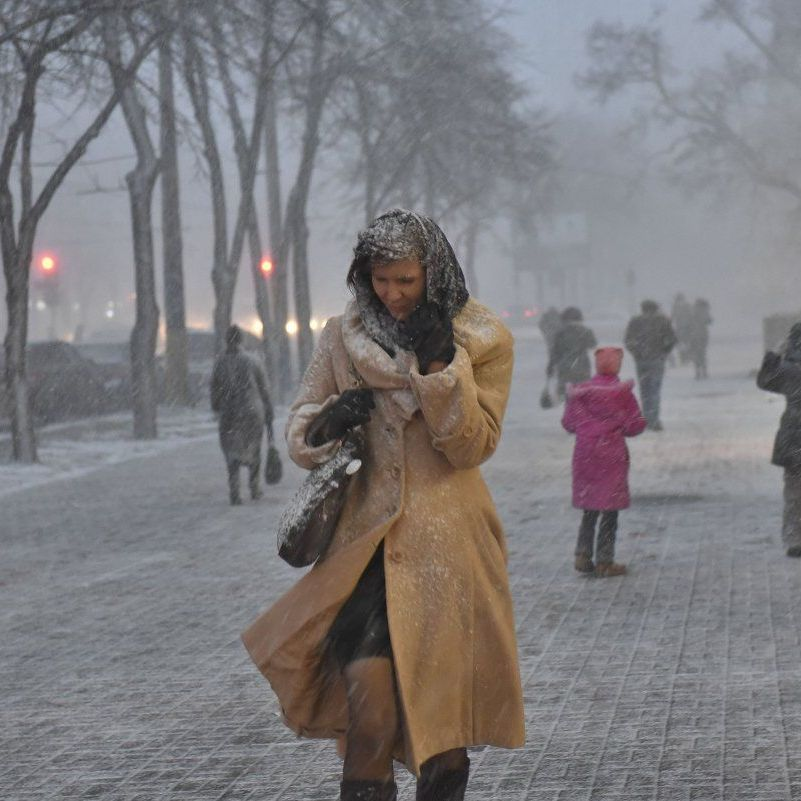 Погода: у більшості областей пройдуть дощі зі снігом, температура знизиться до -7