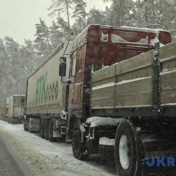На вихідні до столиці обмежено в'їзд вантажівок