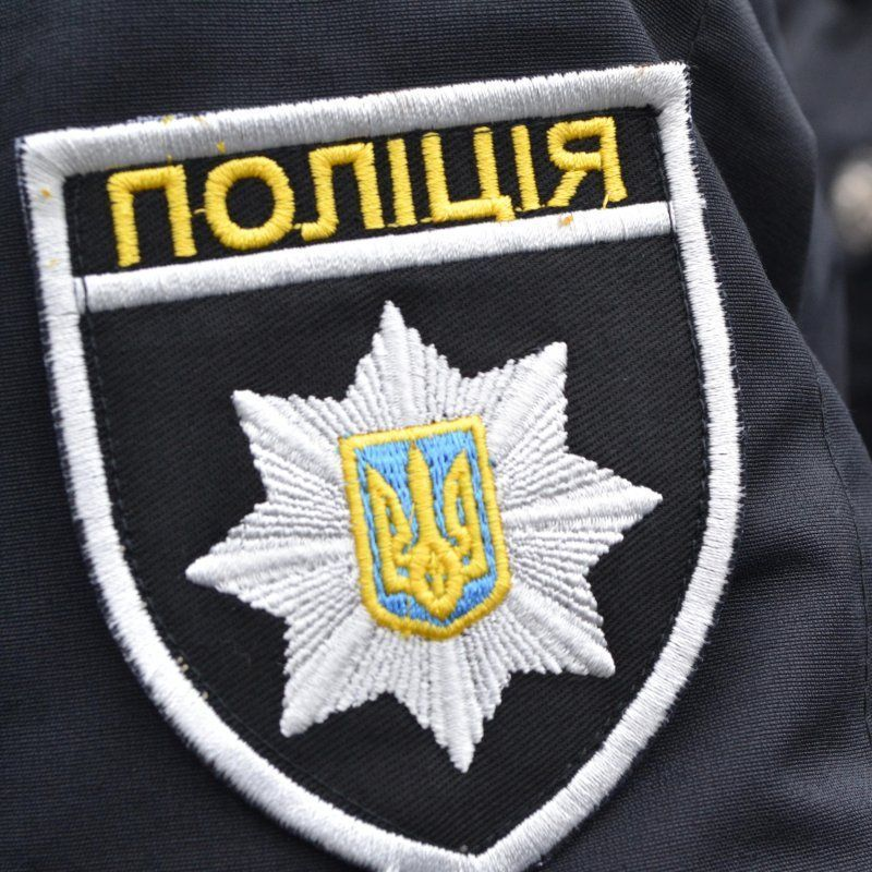 На Львівщині п'яний водій врізався у автомобіль патрульних (відео)