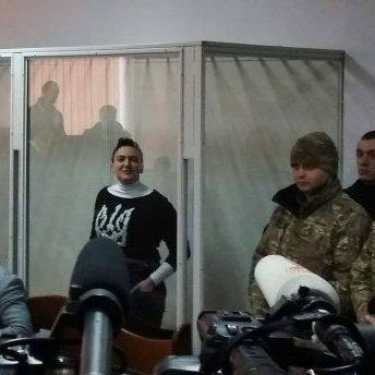 Савченко брутально обматюкала прокурора у суді