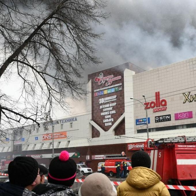 У Кемеровській області оголосили триденний траур за загиблими у пожежі в ТЦ
