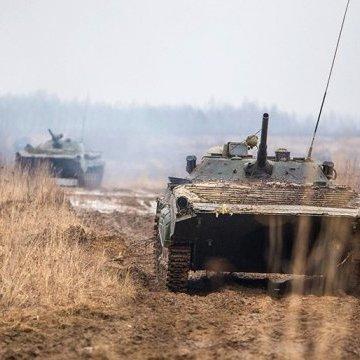 АТО: бойовики гатять з мінометів та БМП