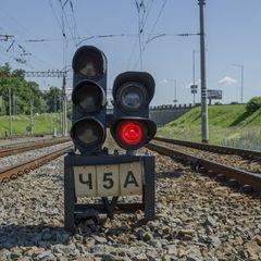 На Харківщині через смерть чоловіка на дві години зупинився рух поїздів