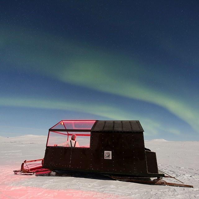 В Арктиці відкрили готель-санчата для спостережень за Північним сяйвом