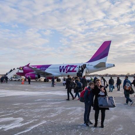 Wizz Air відкрив три нових напрямки з аеропорту Львів
