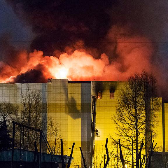 Серед жертв пожежі в Кемерові – 41 дитина