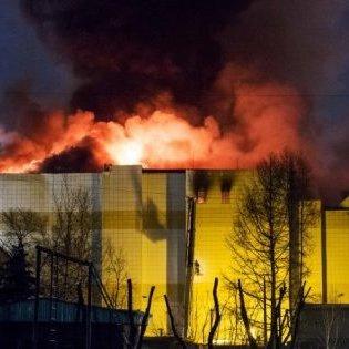 Моторошні кадри: з'явилося моторошне відео, як виглядає після пожежі ТРЦ у Кемерово