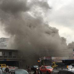 Через пожежу біля метро «Лівобережна» Кличко доручив перевірити об'єкти поблизу метро