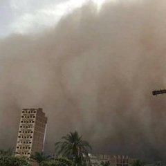 В Єгипті вирують потужні піщані бурі
