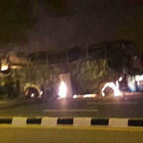 У Таїланді автобус загорівся на ходу, загинули 20 людей
