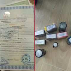 У Києві викрили підпільну друкарню фальшивих техпаспортів