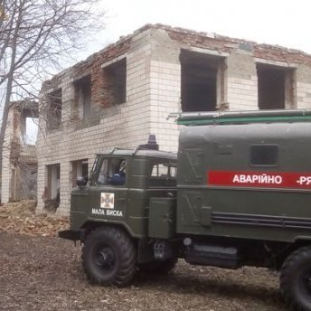 Обвал будівлі на Кіровоградщині: загинув чоловік