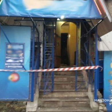 На Житомирщині у будівлі лотереї стався вибух (фото)