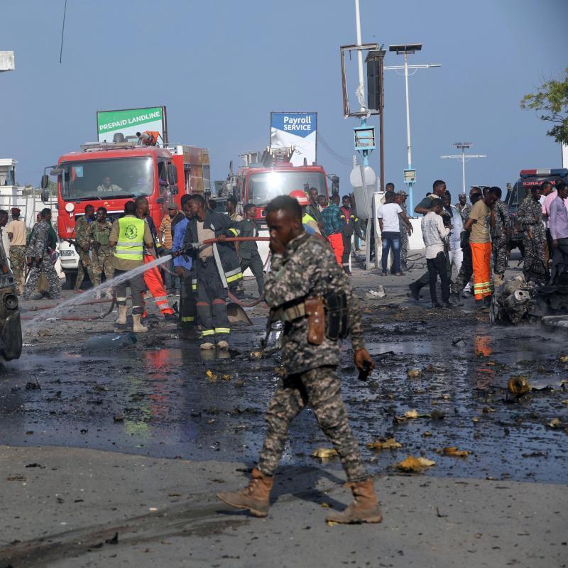 У Сомалі терористи атакували базу миротворців