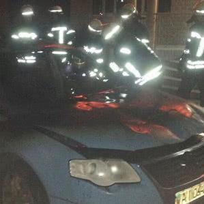 У Києві вибухнув автомобіль Volkswagen
