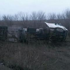 У Запорізькій області перекинулася автоцистерна з паливом