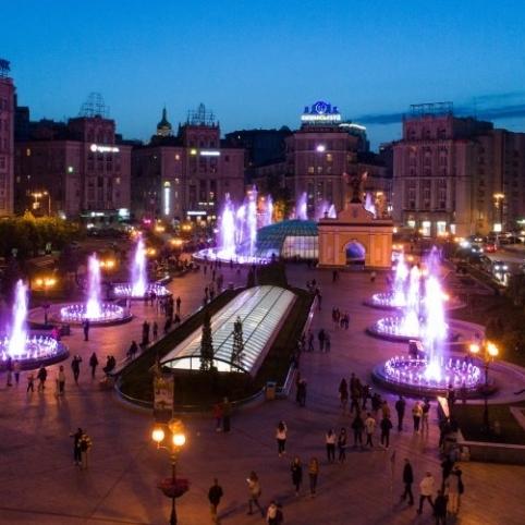 З 1 травня у центрі Києва запустять світло-музичні фонтани