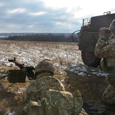 Бойовики 10 разів обстріляли сили АТО з мінометів, є поранений
