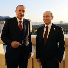 Ердоган «відбив» дівчину у Путіна під час фотосесії в Туреччині (відео)