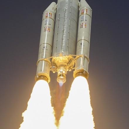 Ракета Ariane-5 стартувала з космодрому у Французькій Гвіані