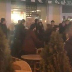 В Одесі відвідувачі McDonald's влаштували бійку (відео)