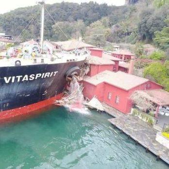 В історичний особняк у Стамбулі врізався танкер, який прямував в Україну