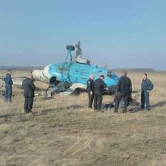 Під Полтавою впав вертоліт (фото)