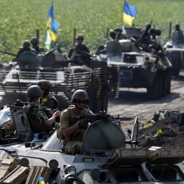 Бойовики з БМП і мінометів обстріляли українські позиції