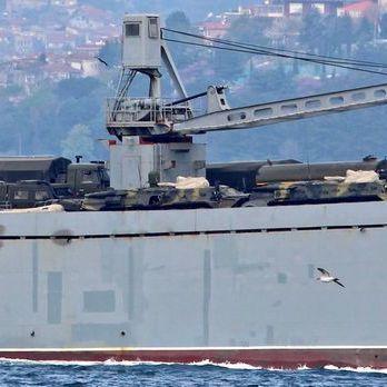 Росія скерувала в Сирію десантний корабель із військовою технікою на борту