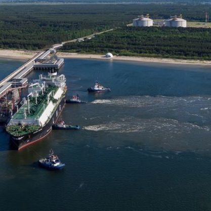 Хорватія запропонувала Україні разом будувати великий газовий термінал