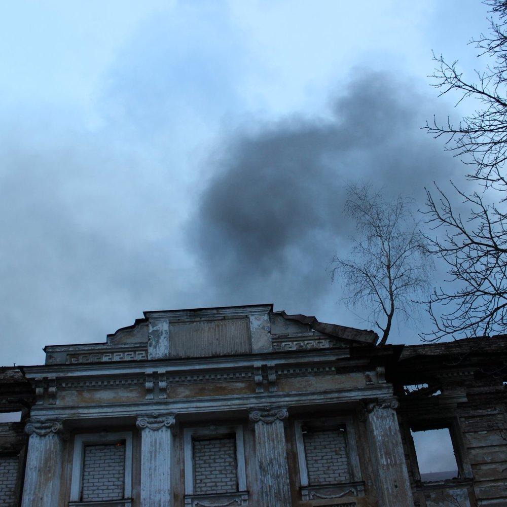 На Харківщині згорів найстаріший бароковий палац Лівобережжя (фото)