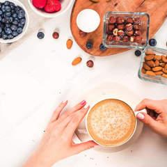 Кава та горіхи зменшують ризик виникнення проблем із серцебиттям