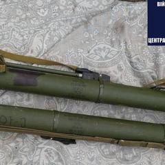 На Чернігівщині затримали військового, який продавав гранатомети із зони АТО (фото)